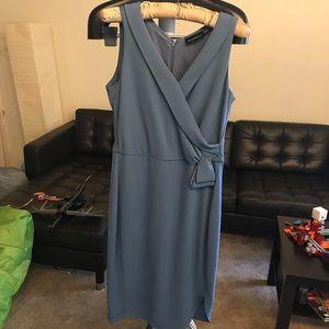 Armani blue dress size 44